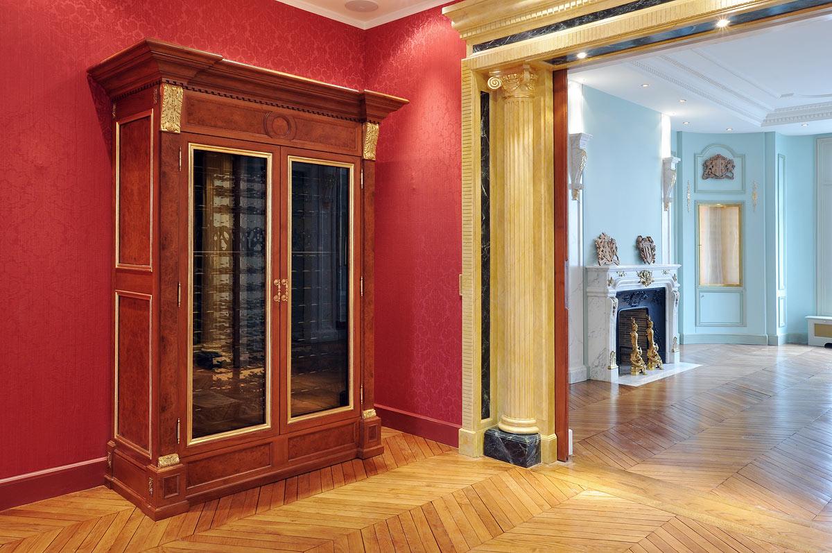 armoires vin arabesques b nisterie restauration. Black Bedroom Furniture Sets. Home Design Ideas