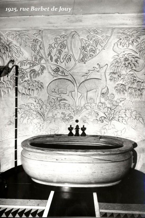 Appartement de jeanne lanvin mus e des arts d coratifs for Art et decoration salle de bain